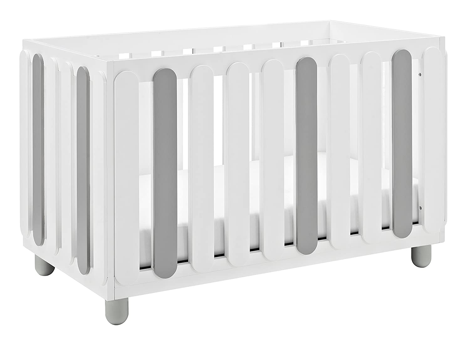 Some Assembly Required Three Position Adjustable Height Mattress Storkcraft Sienna 3-in-1 Convertible Crib Easily Converts to Toddler Bed Day Bed or Full Bed White//Natural
