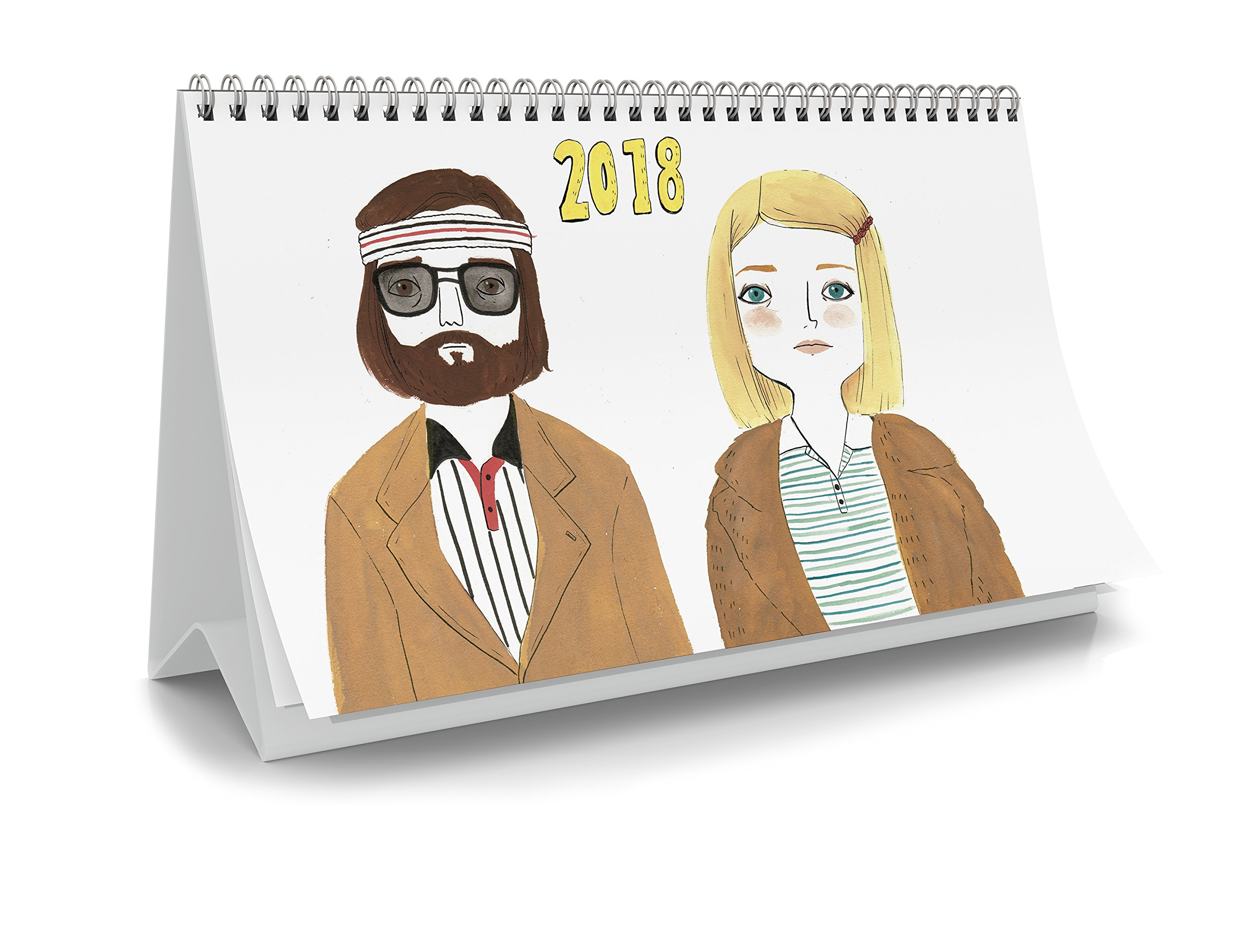 María Hesse. Calendario mesa 2018: Amazon.es: Vv.Aa: Libros
