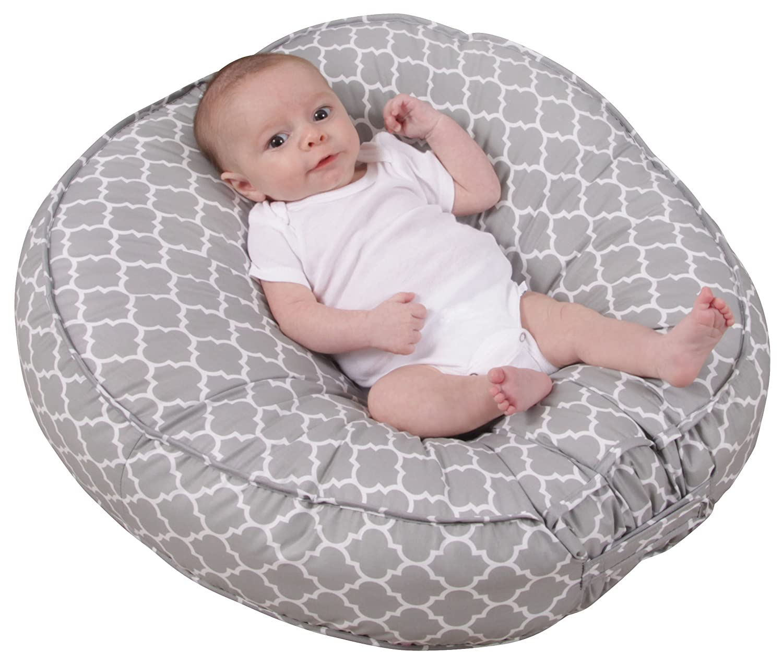 amazoncom  leachco podster slingstyle infant seat lounger sage  - amazoncom  leachco podster slingstyle infant seat lounger sage pin dot breast feeding pillows  baby