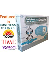 CoderMindz Game for AI Learners! World's First Ever Board Game for Boys and Girls Age 6 and up That Teaches Artificial...