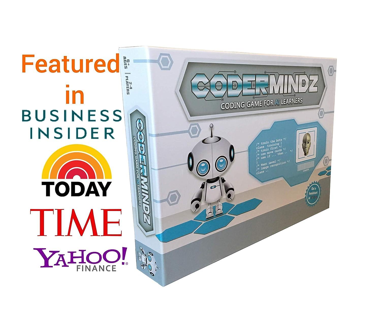 当店在庫してます! Coder Mindz コーディングゲーム AI Coder Mindz Learners用 初めてのエバーボードゲーム 男の子と女の子用 B07FTG78C3 対象年齢6歳以上 人工知能とコンピュータプログラミングを楽しくするロボットと神経的な冒険を教えましょう。 B07FTG78C3, 新作:926fd5dc --- cliente.opweb0005.servidorwebfacil.com