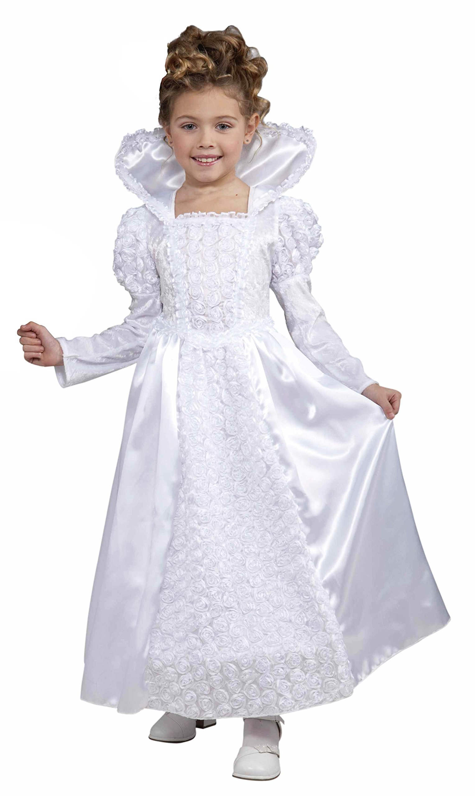 Forum Novelties Deluxe Designer Collection Bride Princess Costume, Child Small