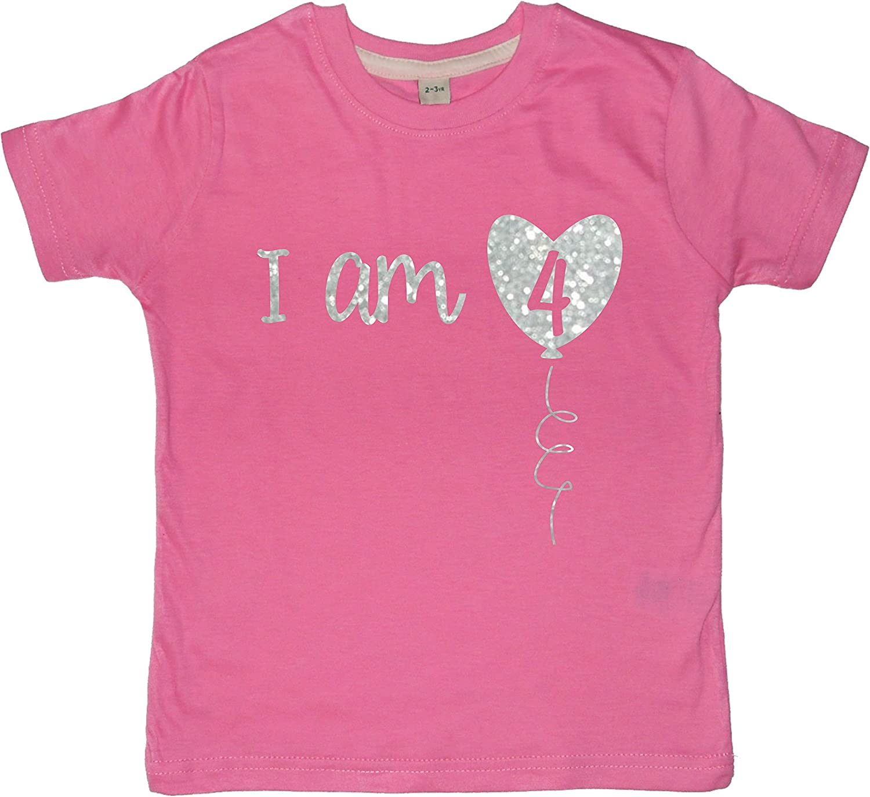 Edward Sinclair I Am Four Boy/'s 4th Birthday T-Shirt