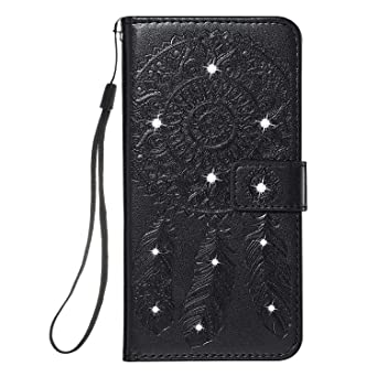 iPhone 11 Pro Flip Case Cover for Leather Extra-Shockproof Business Mobile Phone case Card Holders Kickstand Flip Cover