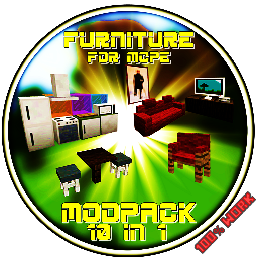 Mod   Furniture New For Mcpe 100  Work