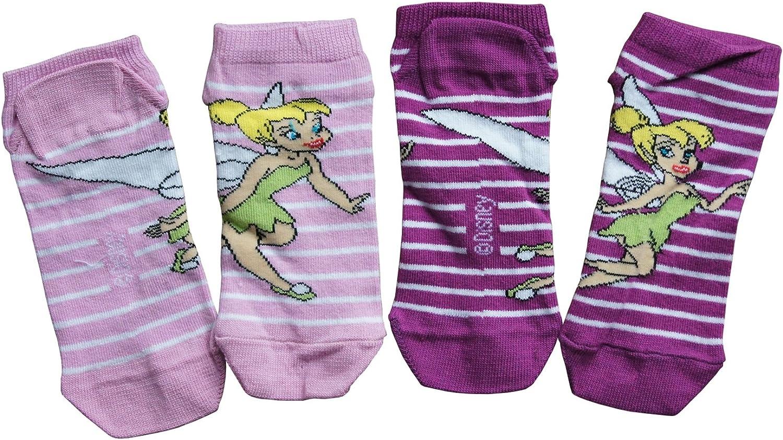 Disney 2 x Faries Sneaker Socken S/öckchen Str/ümpfe Kindersocken