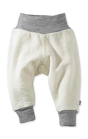 hessnatur Baby M/ädchen und Jungen Unisex Wollfrottee Strampler aus Reiner Schurwolle