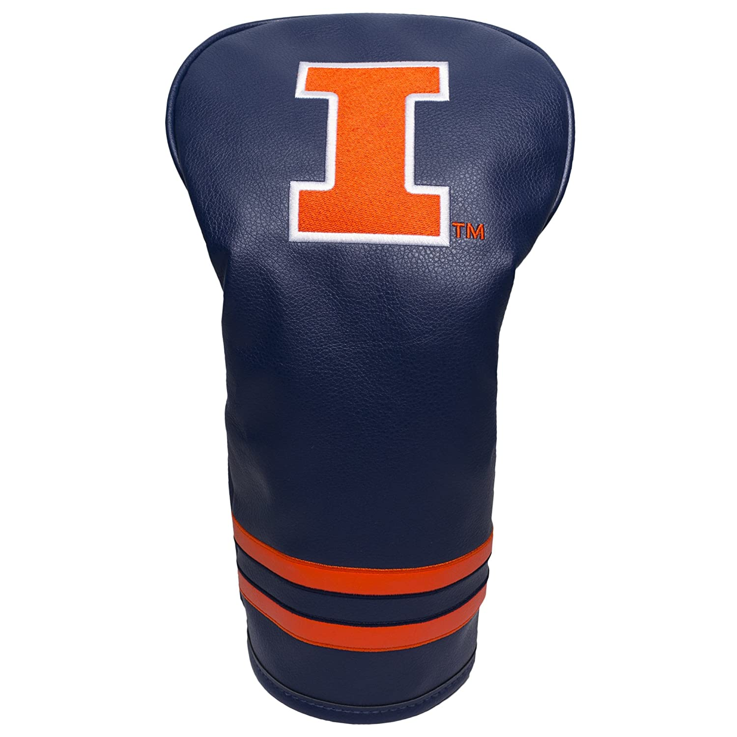 【おまけ付】 NCAAヴィンテージドライバーヘッドカバー Illini B06XXFYFG2 Illinois B06XXFYFG2 Fighting Fighting Illini, オールドギア:887272bb --- vanhavertotgracht.nl