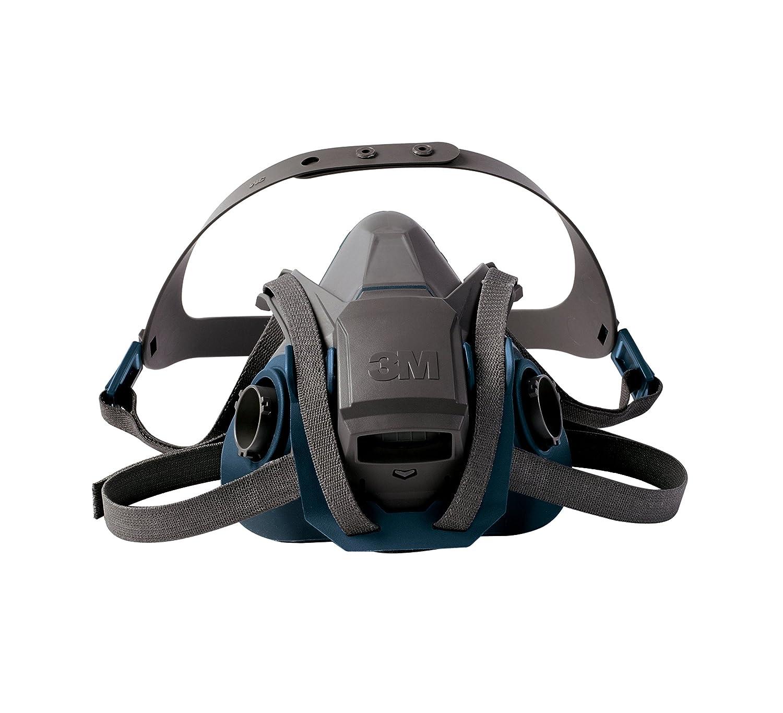 3M Rugged Comfort Quick Latch Half Facepiece Reusable Respirator 6503QL/49492, Large