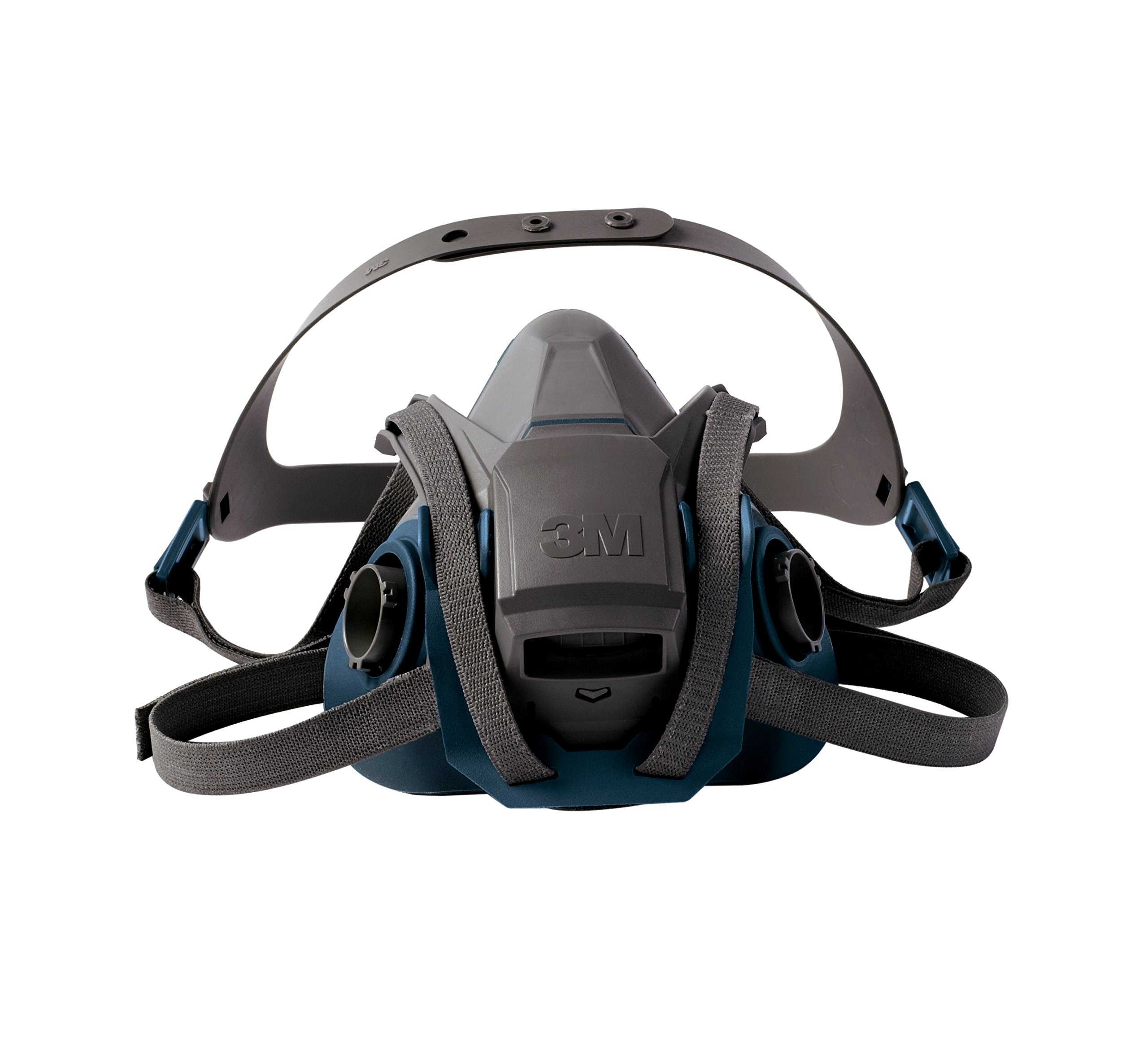 3M Rugged Comfort Quick Latch Half Facepiece Reusable Respirator 6503QL/49492, Large