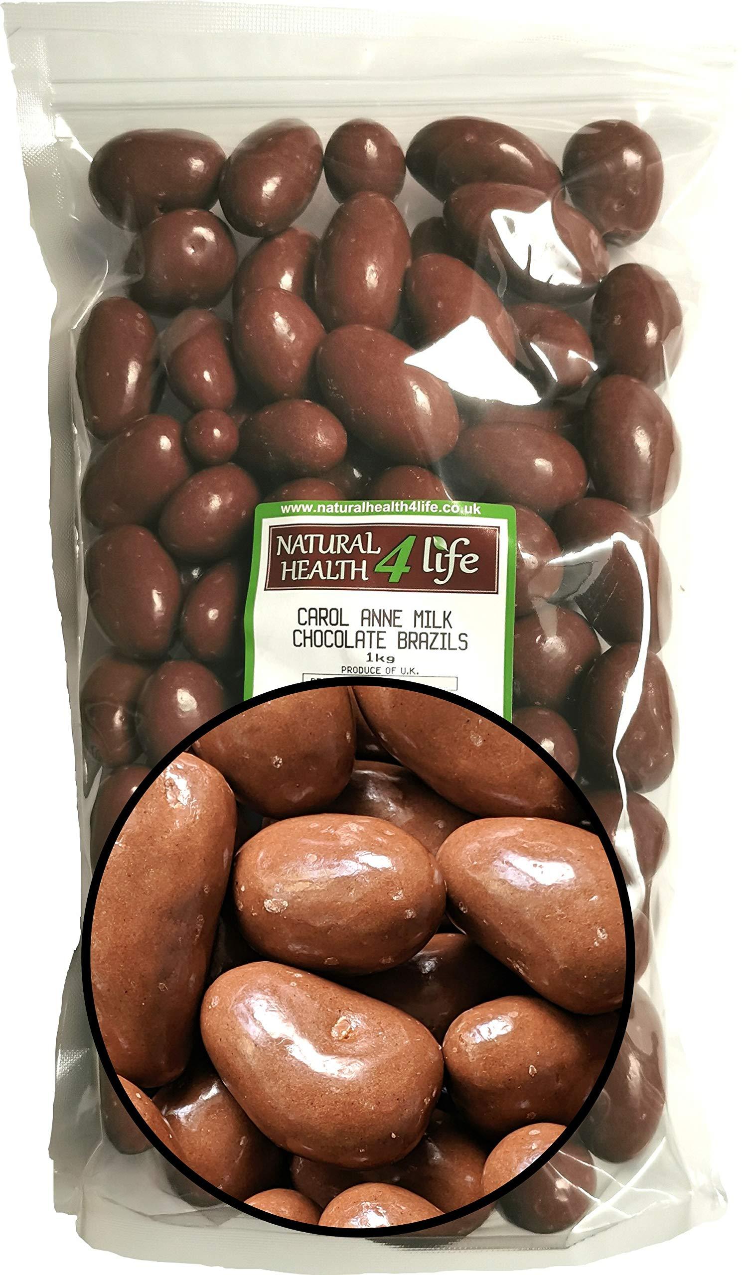 Carol Anne - Milk Chocolate Covered Brazil Nuts - 1kg