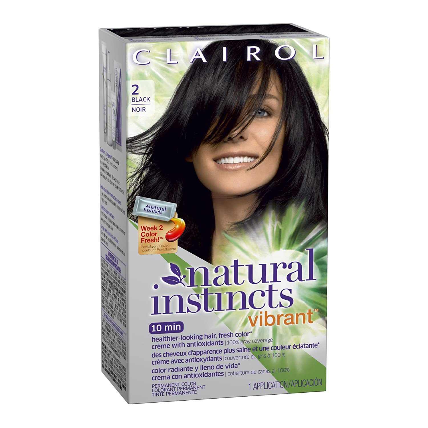 Amazon Clairol Natural Instincts Vibrant Permanent Hair Color