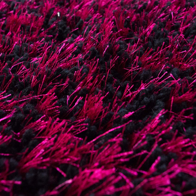 MyShop24h Hochflor Shaggy Shabby Teppich Langflor weicher-Flor Farben Polyester lichtecht lichtecht lichtecht glänzend Wohnzimmer Schlafzimmer, Farbe Grün, Größe in cm 200 x 290 cm 141438
