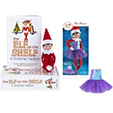 The Elf on the Shelf Girl Light - New Box Set Bundled with Claus Couture Sugar Plum Dress