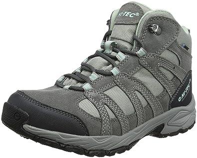 Hi-Tec Damen Alto Ii Mid Waterproof Trekking-& Wanderstiefel, Grau (Steel Grey/Grey/Lichen), 40 EU