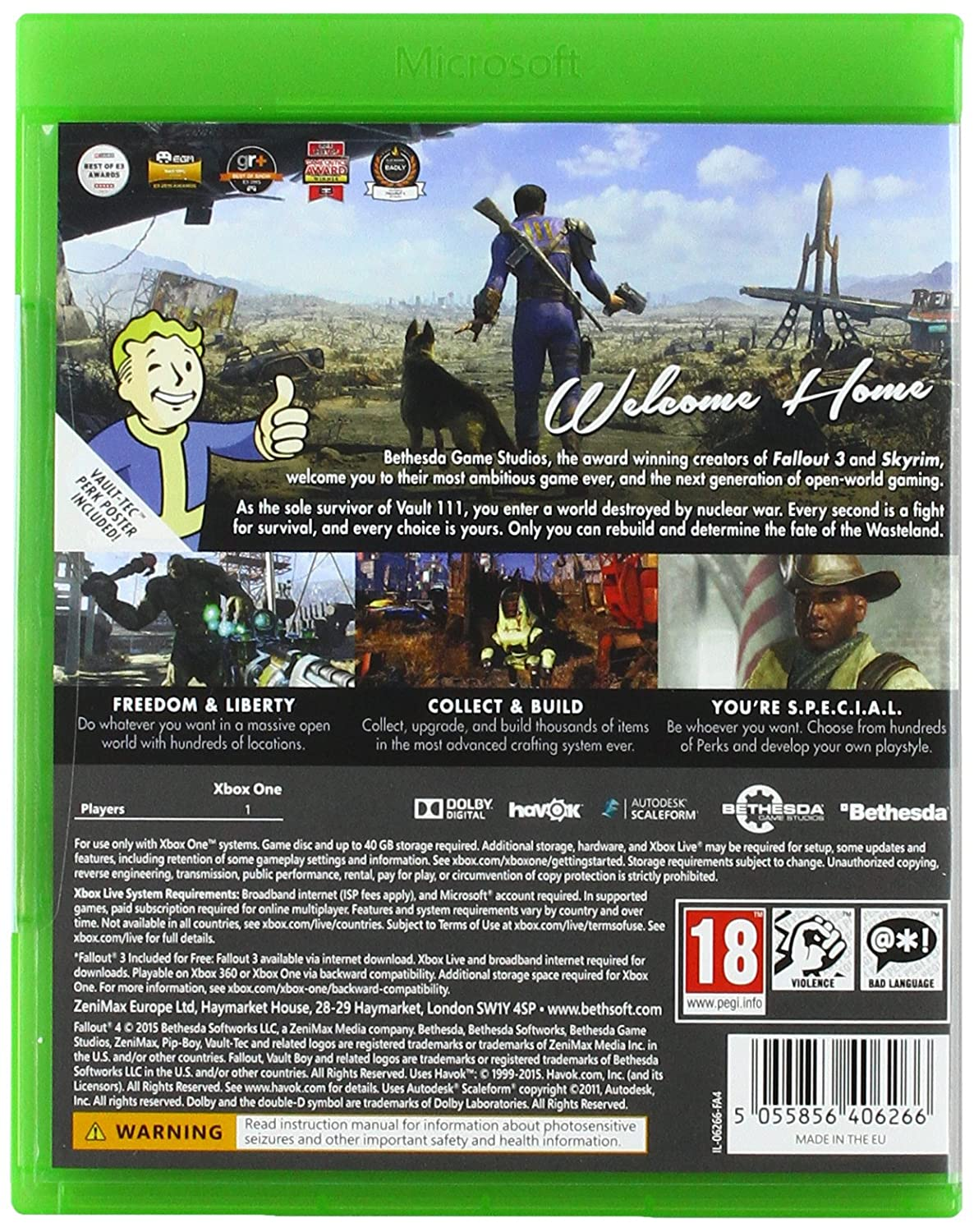 a8718774509195 Fallout 4 (Xbox One): Amazon.co.uk: PC & Video Games