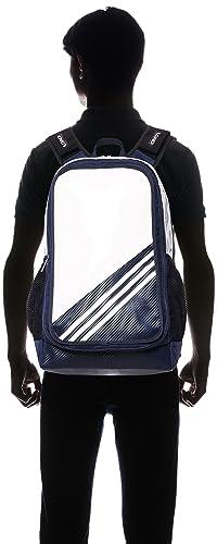 Amazon.com  adidas 3 stripes Baseball enamel backpack BIN47 AP2746 (White   College  Navy)  Clothing e750164196d7b