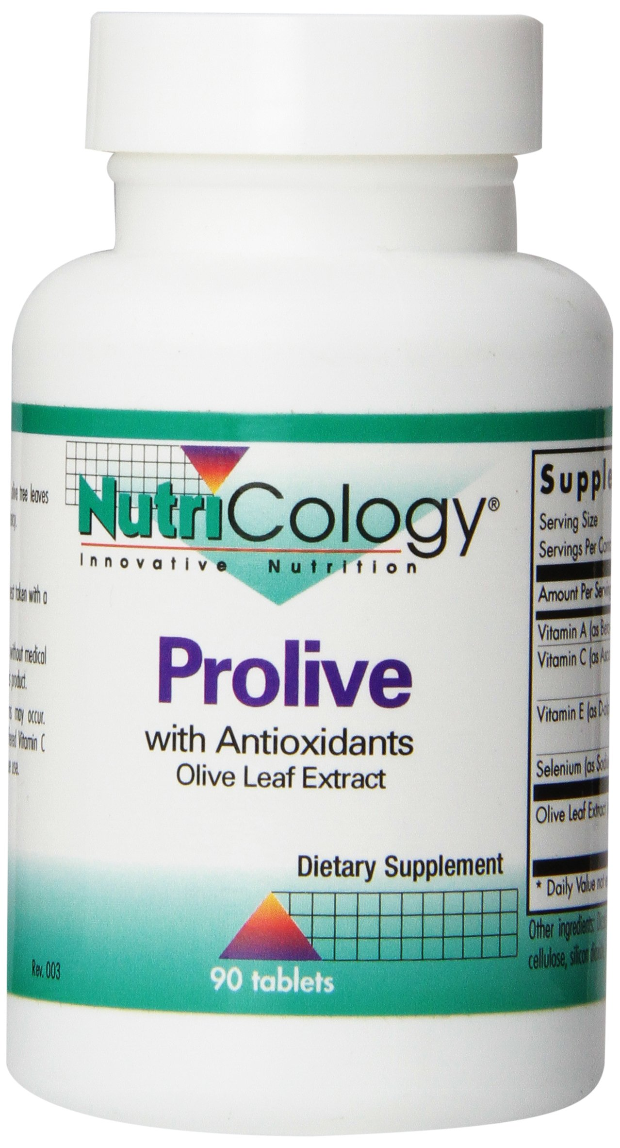 Nutricology Prolive with Antioxidants, Tablets, 90-Count
