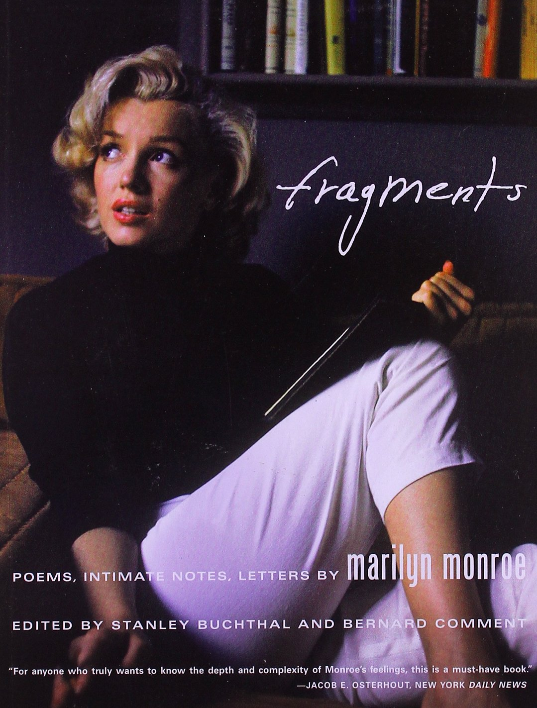fragments poems intimate notes letters marilyn monroe bernard comment 9780374533786 amazoncom books