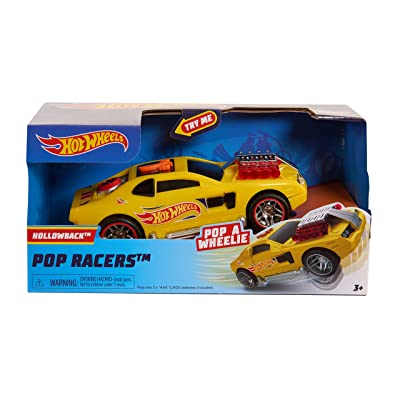 Hot Wheels Poppin Wheelie Cars Hollowback: Toys & Games