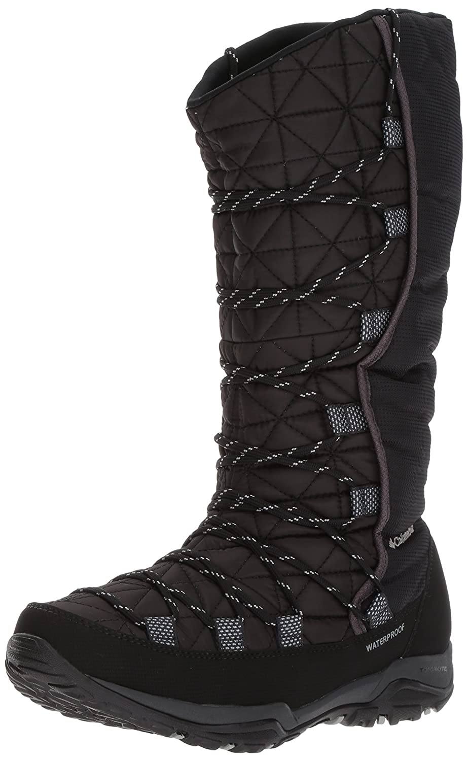 Columbia Women's Loveland Omni-Heat Snow Boot B01N1U6VJZ 9 B(M) US|Black, Earl Grey