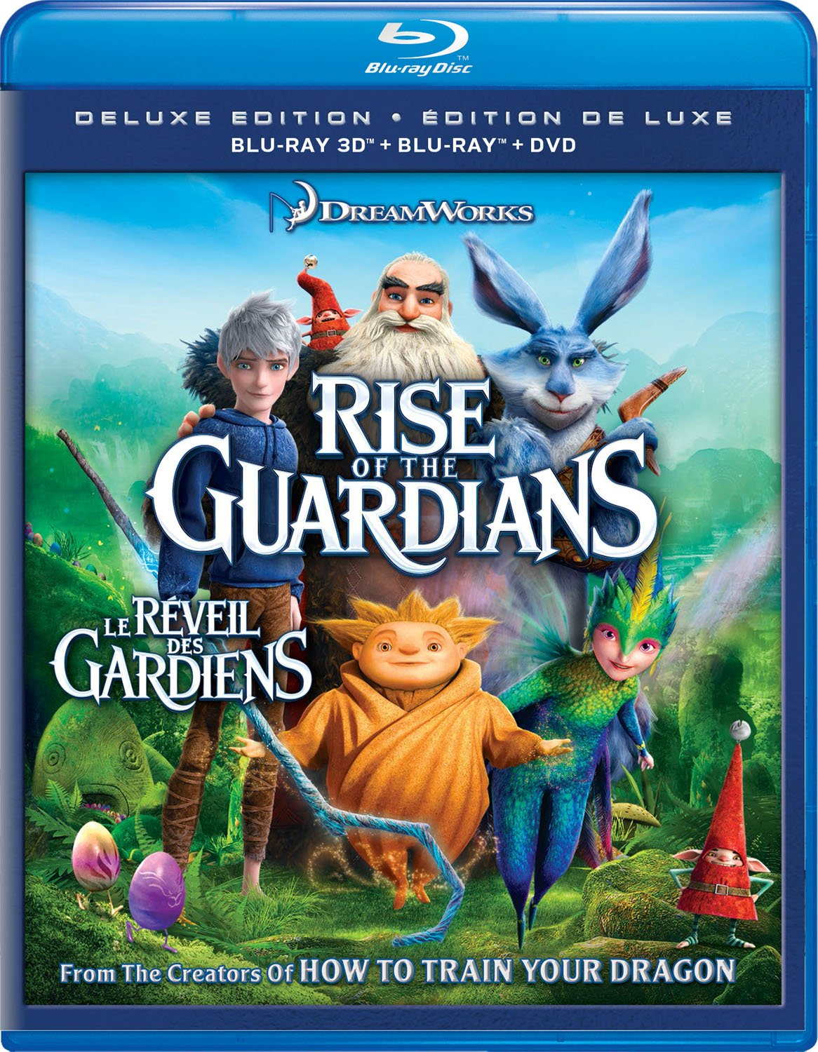 Amazon.com: Rise Of The Guardians [Blu-ray]: Hugh Jackman, Alec Baldwin, Isla Fisher, Chris Pine, Jude Law, Dakota Goyo, Khamani Griffin, Kamil McFadden, ...