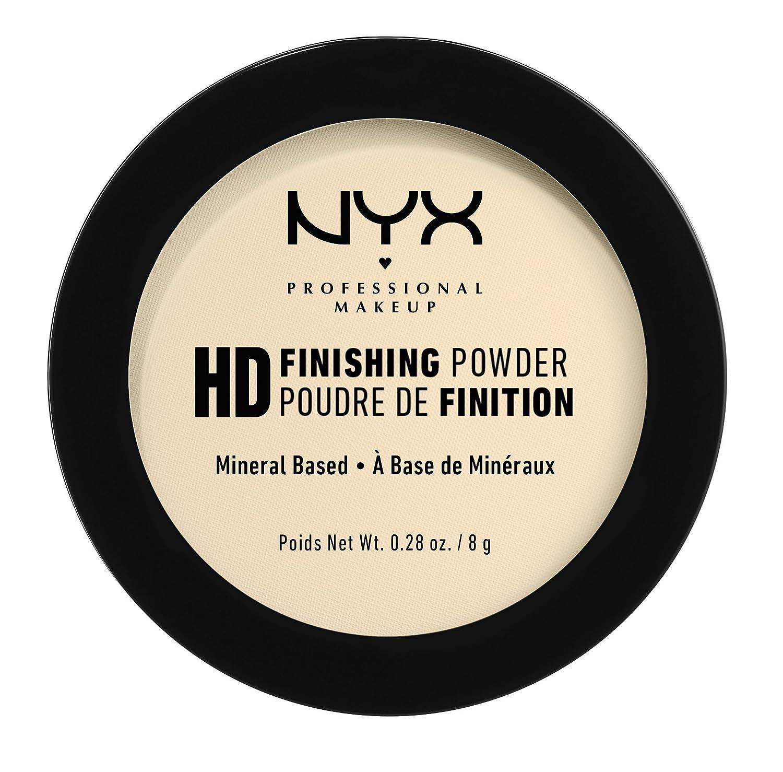 NYX PROFESSIONAL MAKEUP High Definition Finishing Powder, Banana, 0.28 Ounce 0800897834678