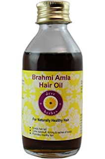 Aceite para cabello de Deve Herbes con brahmi y amla, 100 ml
