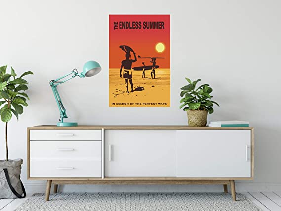Amazon.com: Buyartforless Endless Summer, in Search for The ...