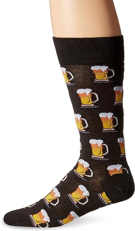 Hot Sox Men's Beer Crew