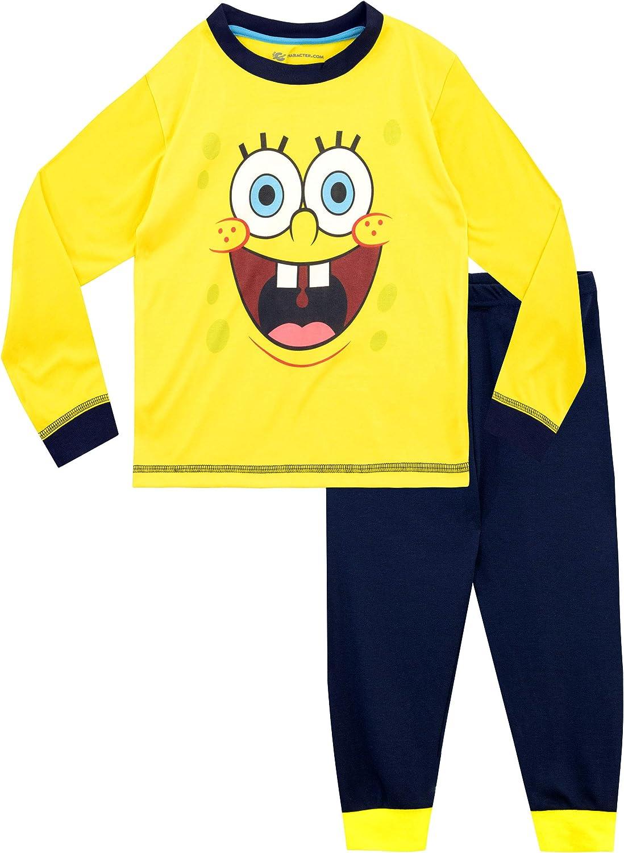 SpongeBob Maglietta Maniche Corta per Ragazzi Sponge Bob Squarepants