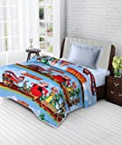 JaipurCrafts 220 TC Cartoon Print Reversible Poly Cotton AC Comforts/Blanket/Quilt (Single Bed)