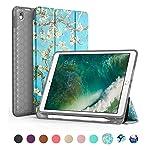 Capa iPad 6 Geração 9.7 Polegadas WB Antichoque Cerejeira Com Compart. P/Apple Pencil - A1822/ A1823/ A1893/ A1954/ A1673...