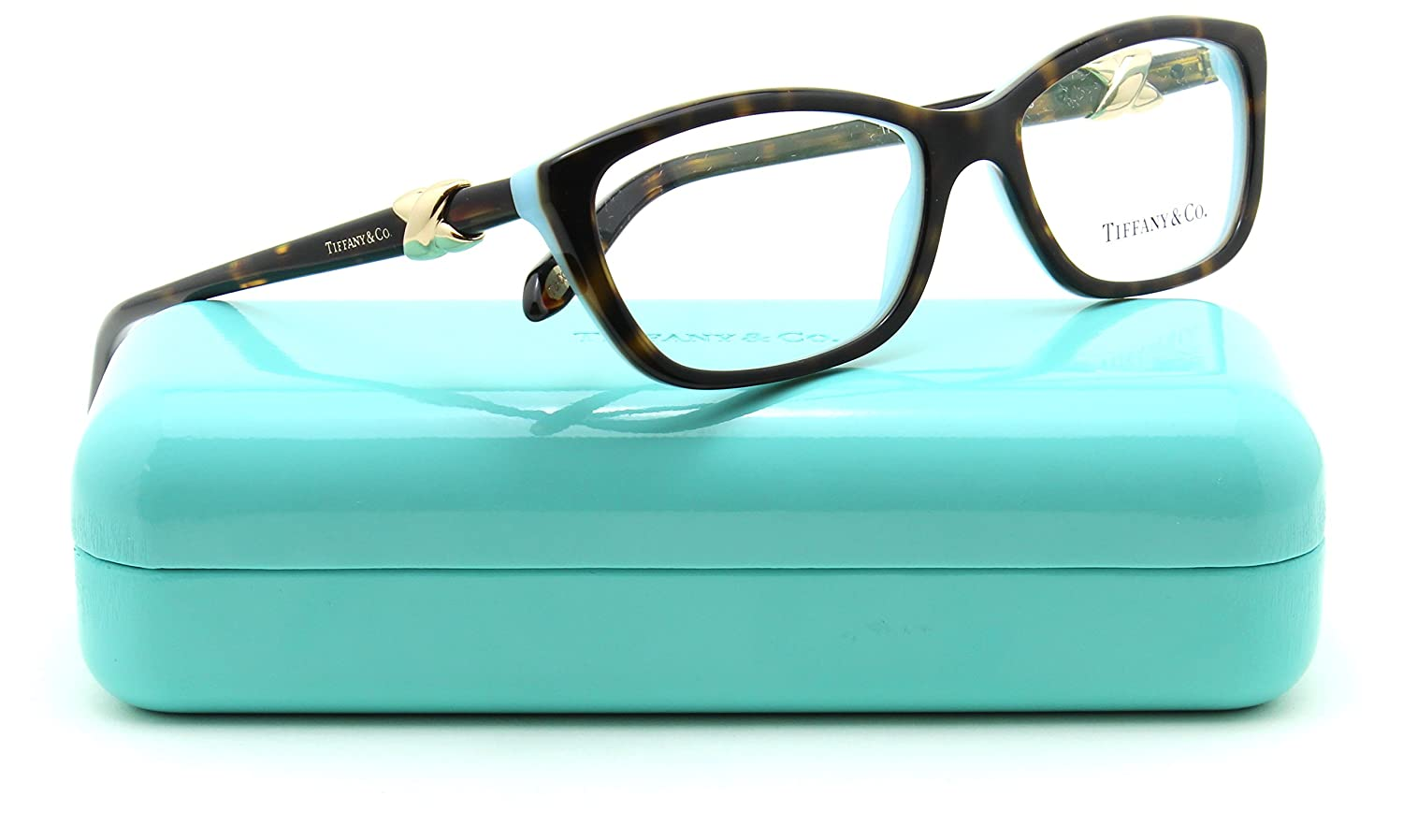 bc8bf592745 Tiffany   Co. TF 2074 Women Cat-Eye Eyeglasses RX - able Frame 8216 ...