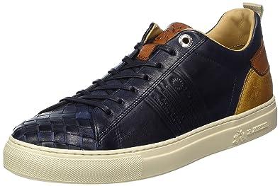 La Martina Cassetta, Baskets Homme, Bleu (Dark bleu 134), 41 EU
