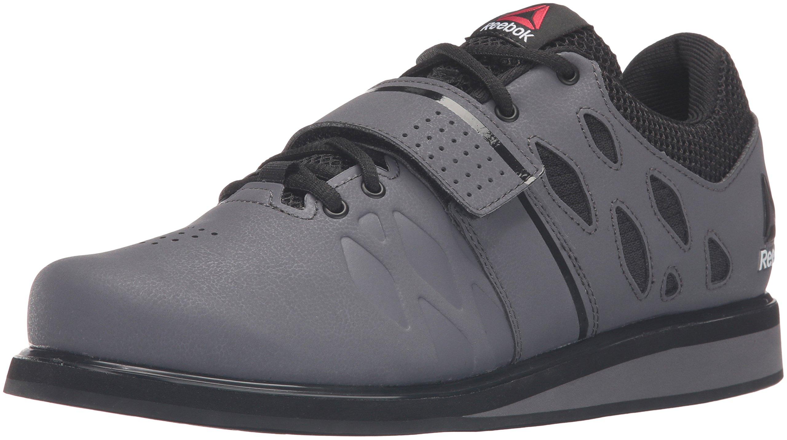 Reebok Men's Lifter Pr Cross-Trainer Shoe, Ash Grey/Black/White, 7 M US by Reebok (Image #1)