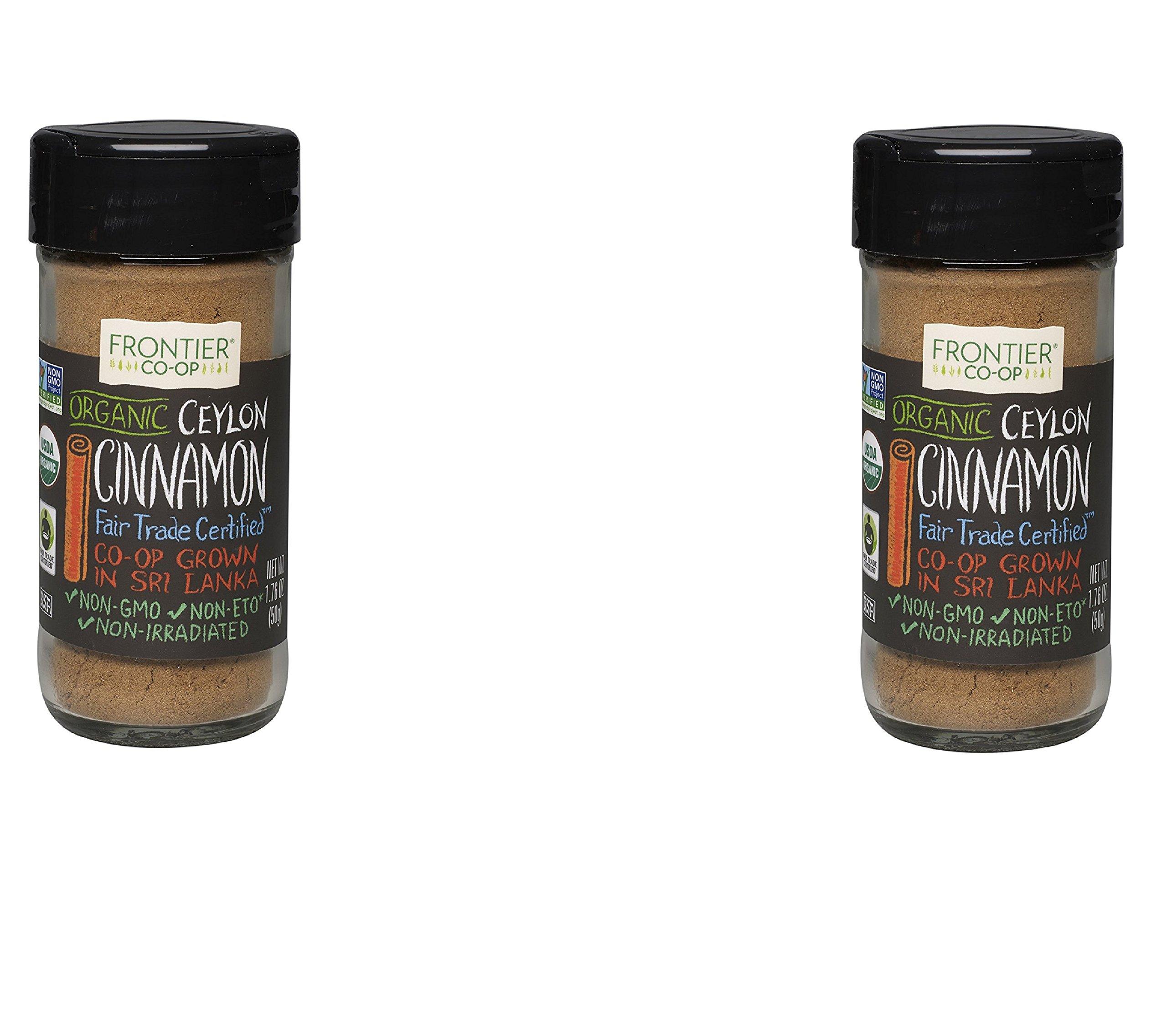 Frontier Natural Products Cinnamon, Ground Ceylon