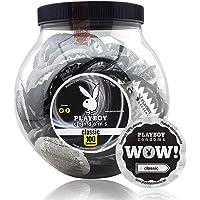 Playboy Condoms Vitrolero con 100 Condones Clasicos
