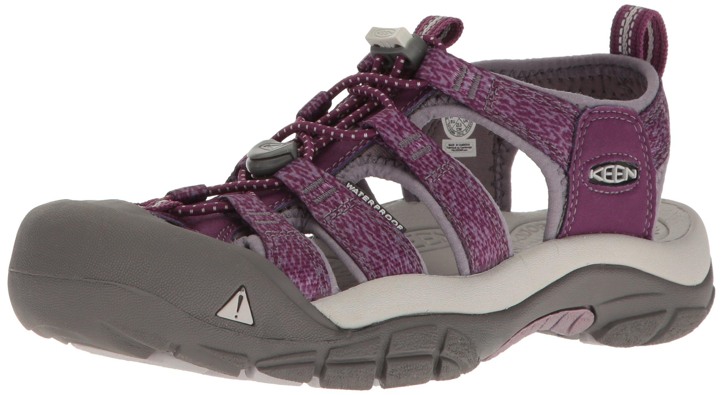 KEEN Women's Newport H2 Sandal, Deep Purple/Purple Sage, 7.5 M US