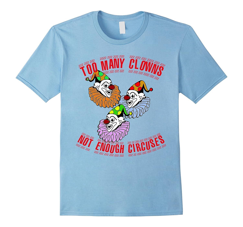 Too Many Clowns T-shirt-Art
