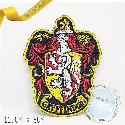 Parche bordado para coser o planchar con escudo de Gryffindor para ...