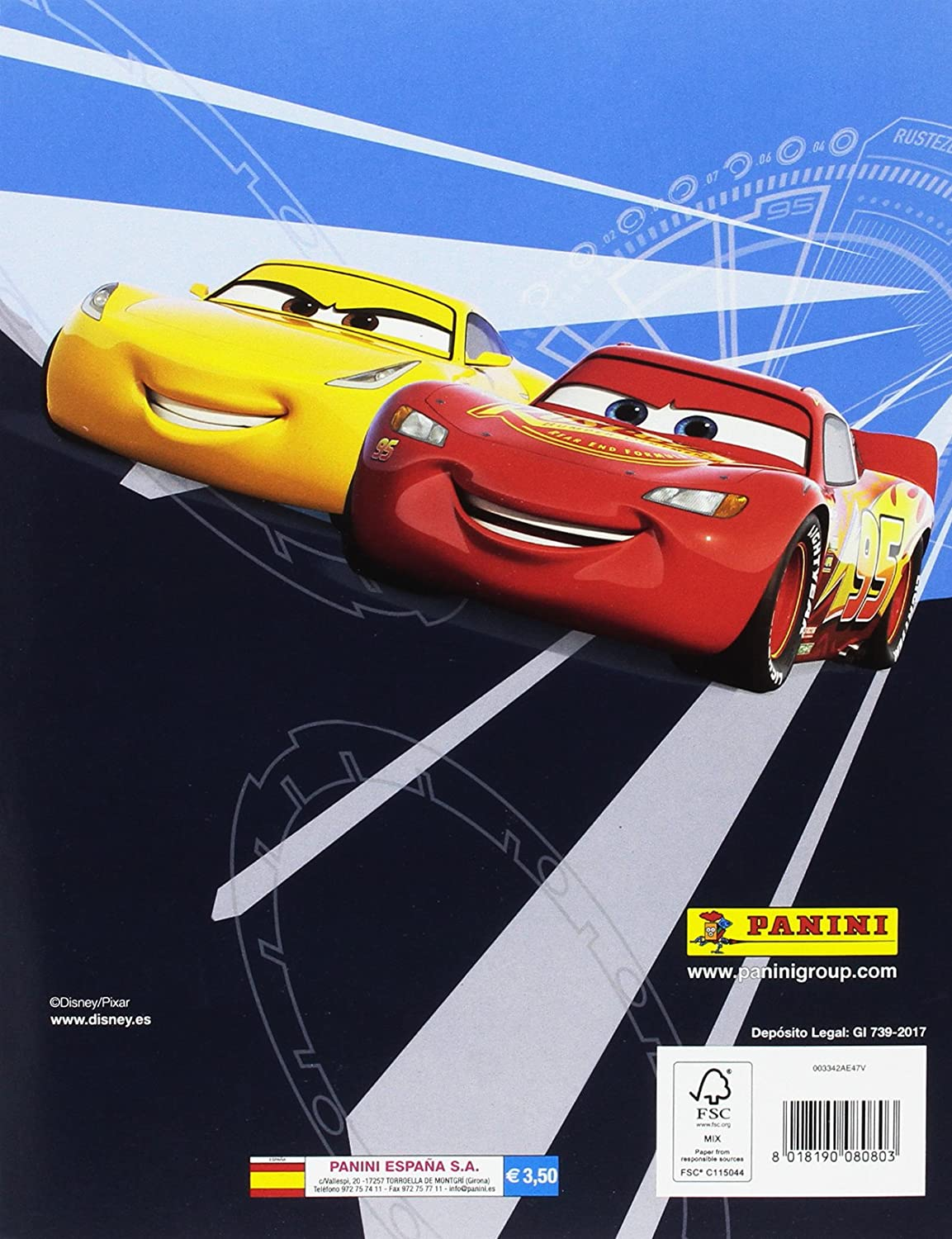 Panini-Cars 3 sammelsticker-Sticker 77
