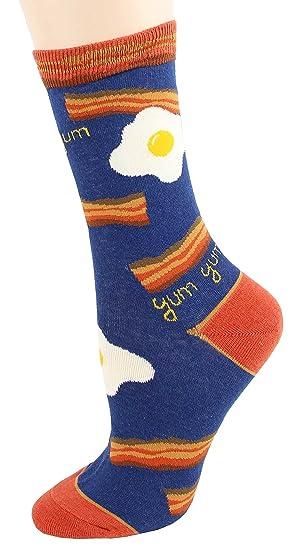 Amazon.com  Foot Traffic - Women s Food-Themed Socks e35cfb3358