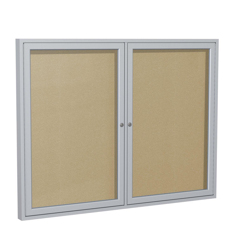 Enclosed Bulletin Board (2 door) Frame: Outdoor