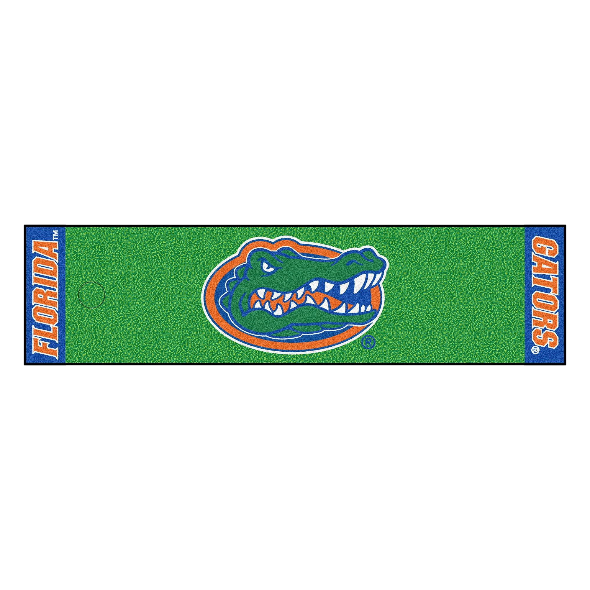 Fanmats NCAA University of Florida Gators Nylon Face Putting Green Mat