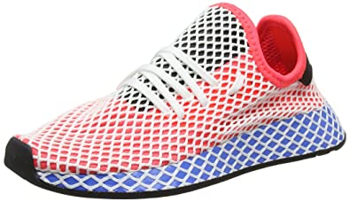 sports shoes ba4df 8d4d1 adidas 8, Chaussures de Gymnastique Mixte Enfant, Rouge (Hi-res S18