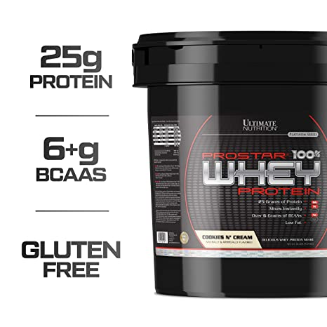 Ultimate Nutrition Prostar 100% Whey Protein - 4 54 kg (Cookies 'N