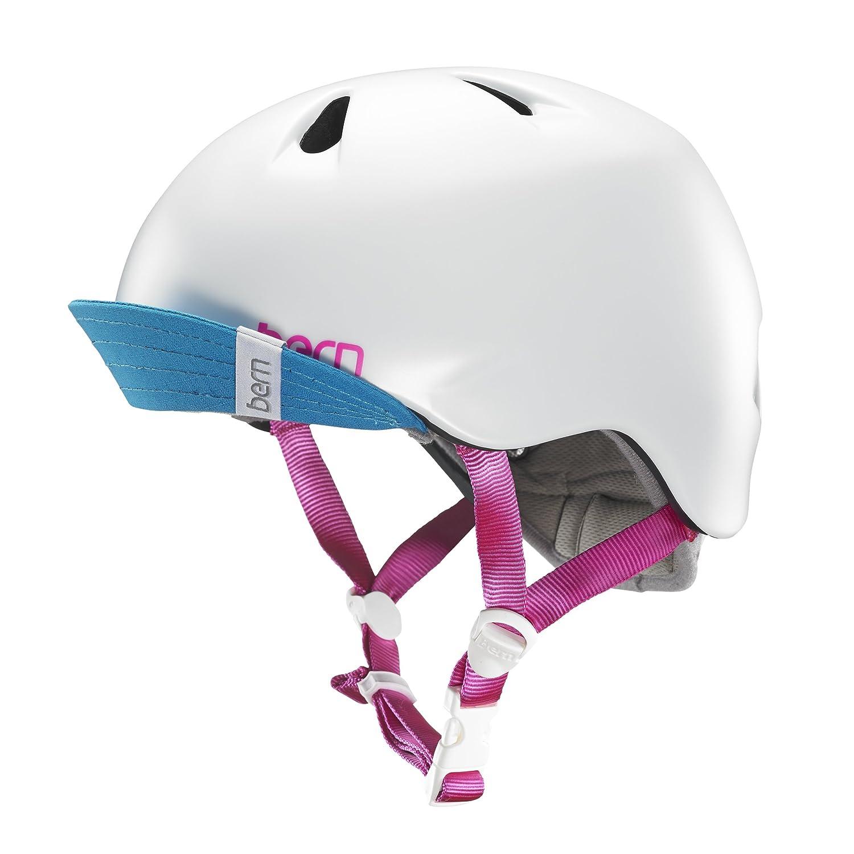 【メーカー再生品】 bern NINA KIDS SATIN バーンニーナ bern NEWカラー/子供用マルチスポーツヘルメットスポーツ用品 WHITE B00VPYKNCK S-M SATIN WHITE SATIN WHITE S-M, 子供服のキイロイキ:fc5a5412 --- a0267596.xsph.ru