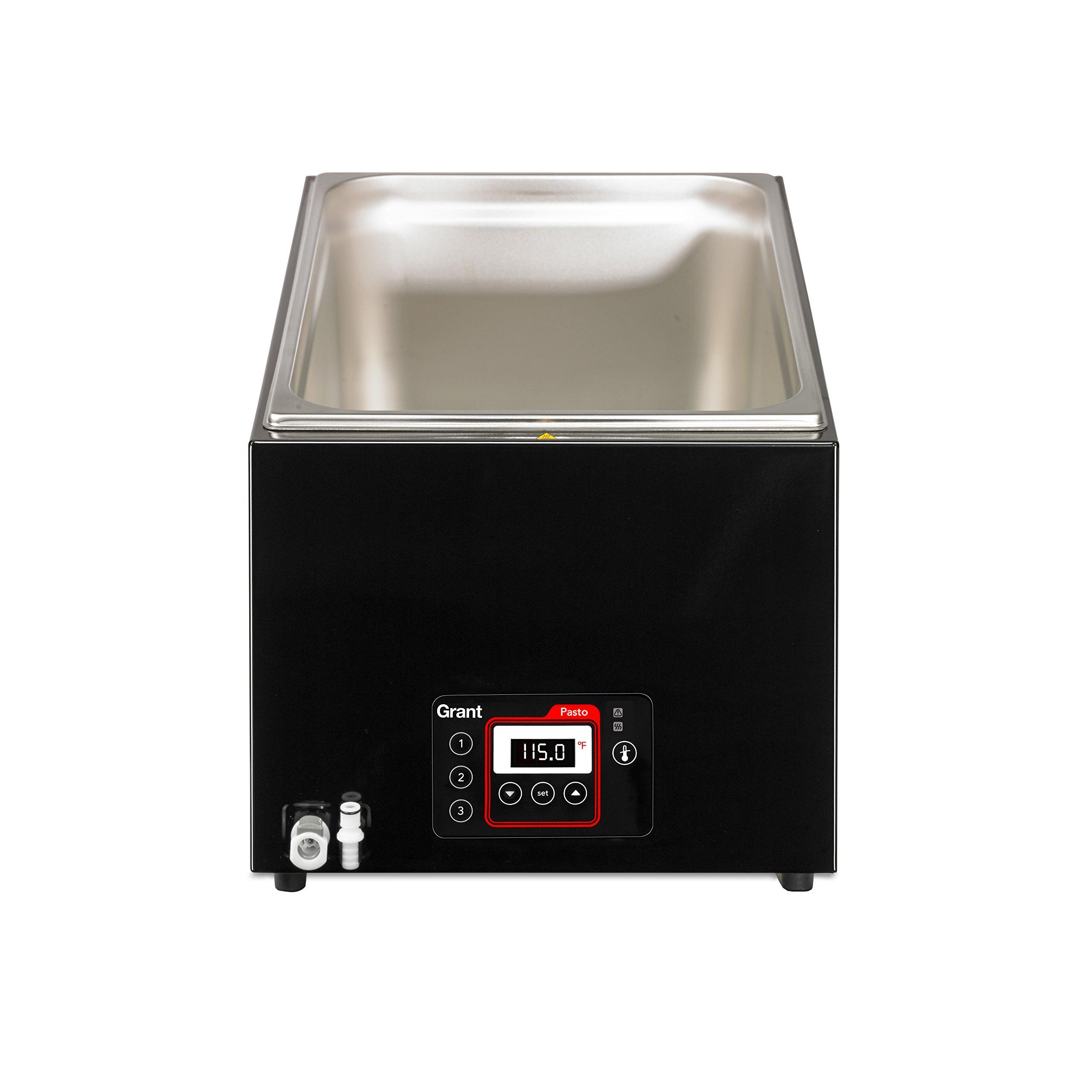 Creative Cuisine By Grant Professional Pasto Sous Vide Water Bath, Black, 12L