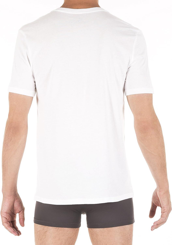 Tommy Hilfiger Men's Flag V Neck Tee at  Men's Clothing store